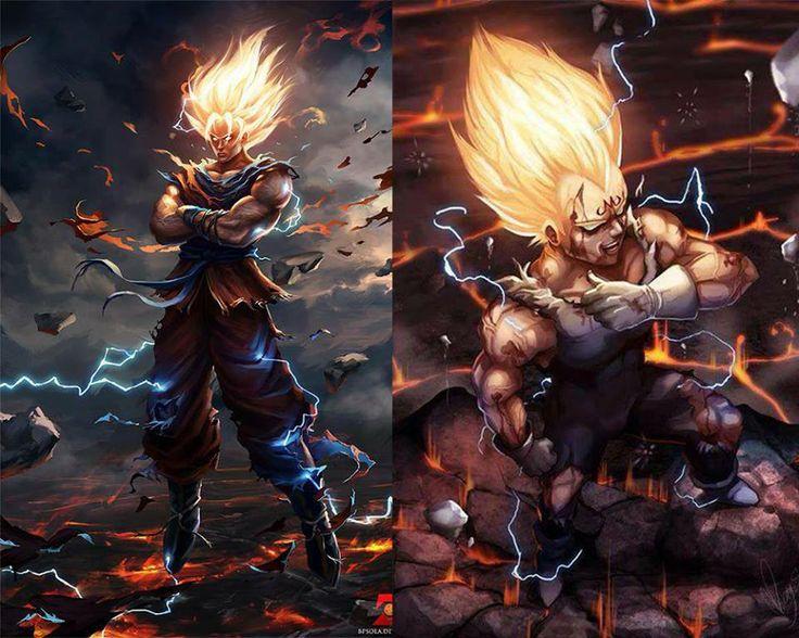 Goku the sayain from dragon ball z anime heroes and - Dbz goku vegeta ...