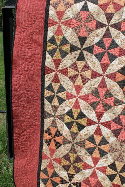 From Prarie Moon Quilts.....great colors!