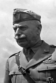 From 1942 to 1943, general Italo Gariboldi commanded the Italian Army in Russia (Armata Italiana in Russia, or ARMIR, or Italian 8th Army). He was personally in command of the Italian troops destroyed in the Battle of Stalingrad after bloody fighting.
