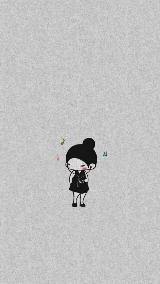 소소한하루 커플 배경화면 여자아이 하루 - 아이폰 / 아이폰플러스 / 갤럭시 /노트 : 네이버 블로그
