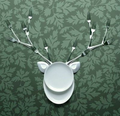 dish deerKitchens Decor, Wall Decor, Kitchens Wall, Art, Deer Head, Kitchens Utensils, Jeans Francois, De Witte, Kitchens Items
