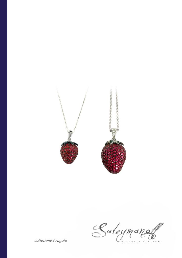 Fragola (Strawberry) from the first Suleymanoff Collection