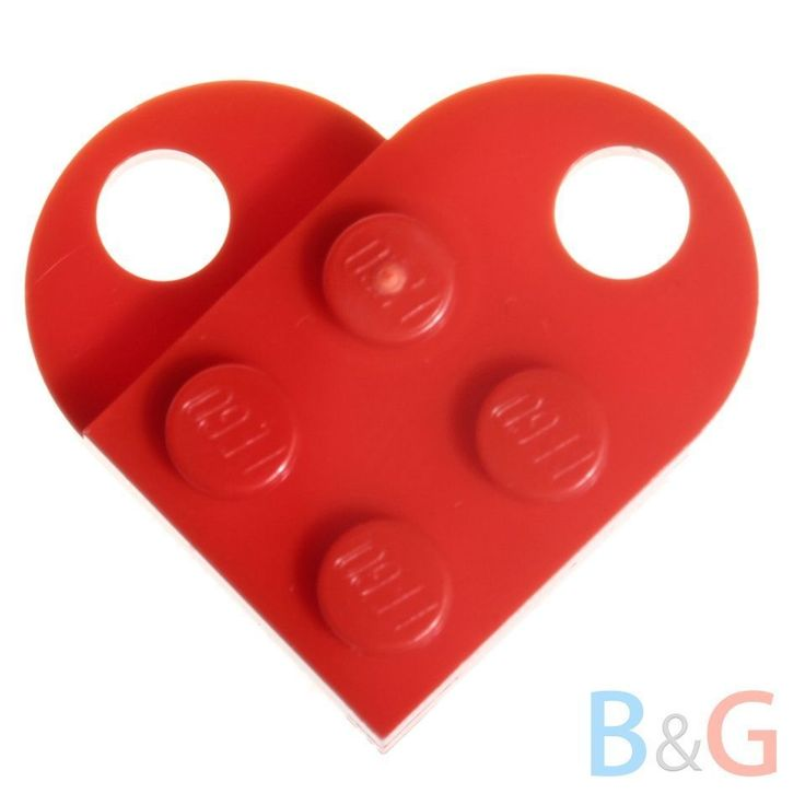 Classroom Ideas For Valentines Day ~ Lego coupling dark red plate modified with hole