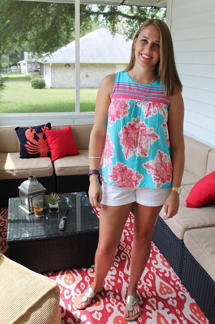 Preppy, nautical summer style! Crown and Ivy from Belk