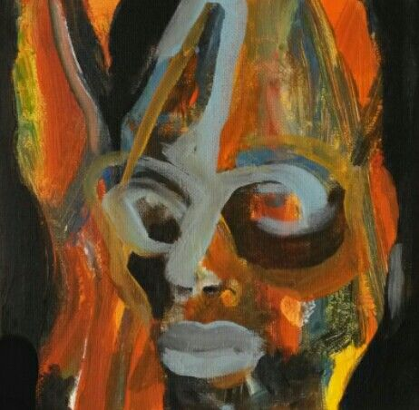 Acryl on canvas 20x20 cm