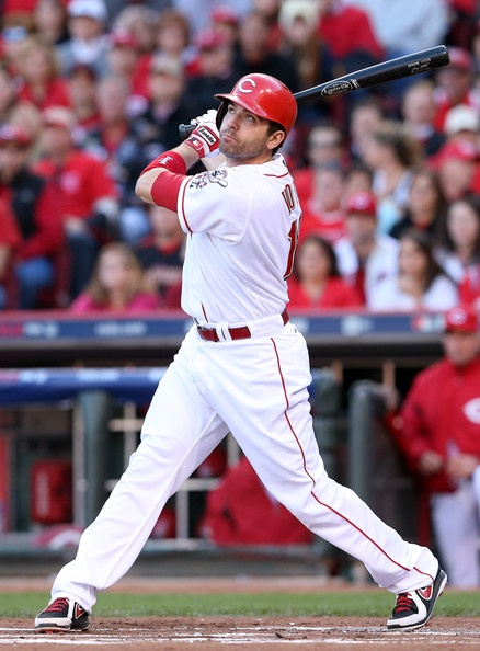 Joey Votto Photo - Division Series - San Francisco Giants v Cincinnati Reds - Game Three