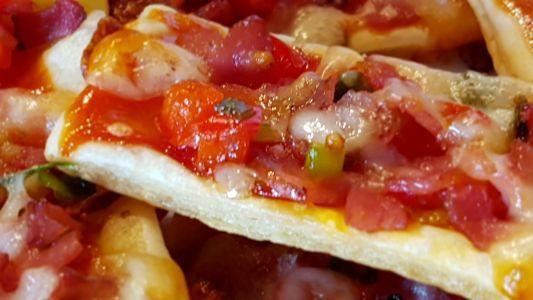 Mic Dejun cu Mini Pizza pe Foetaj