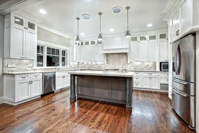 Kitchen Cabinets With 10 Foot Ceilings Foot Kitchen
