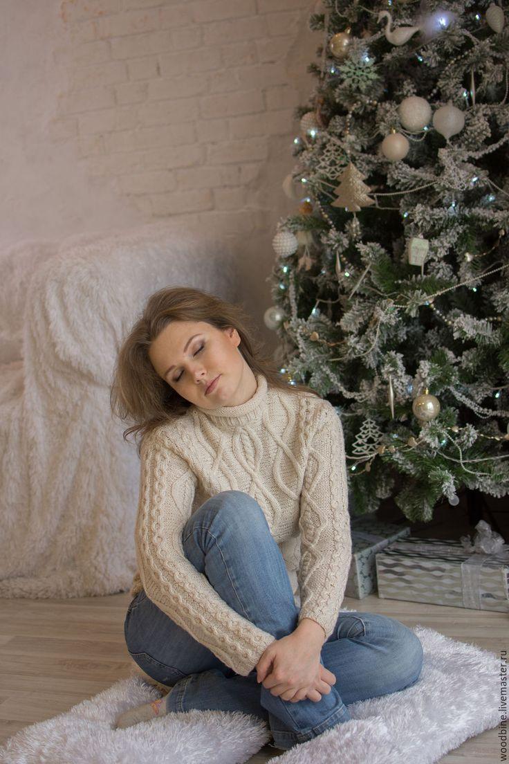 Купить Свитер - свитер вязаный женский, вязание на заказ, ручная вязка, ручная авторская работа