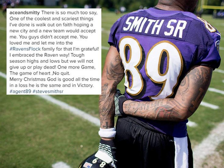 Steve Smith Sr's message to The Flock