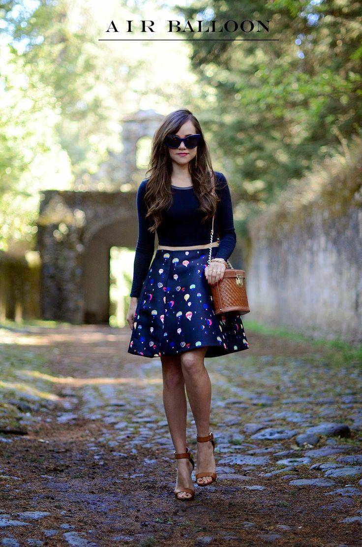 """Air balloon skirt"" | MODA CAPITAL"