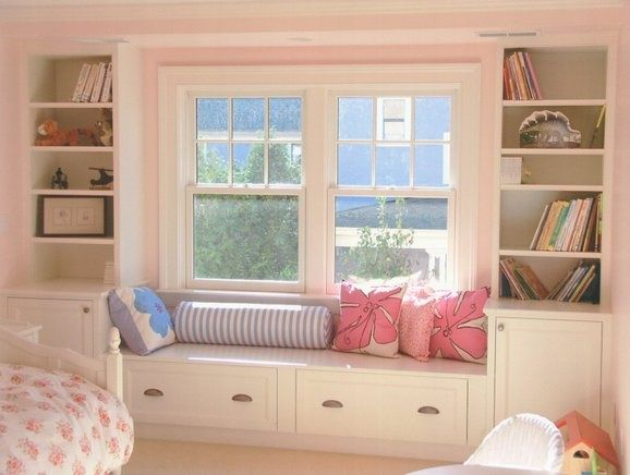 25 best Window Seats for a Girls Bedroom images on Pinterest