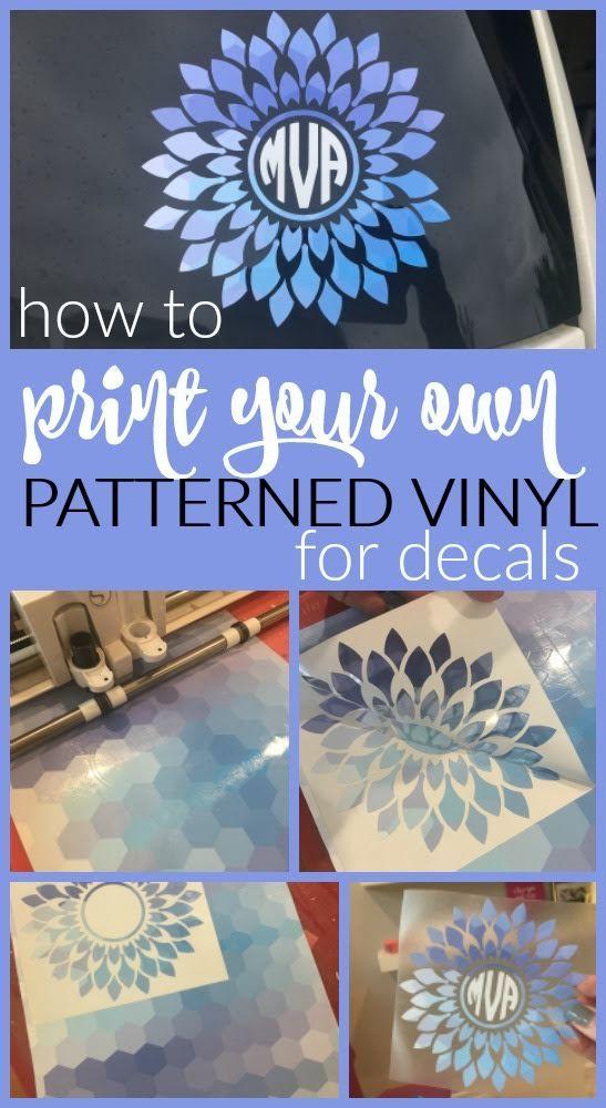 Diy Vinyl Printing With Inkjet Printable Vinyl Sheets Inkjet Printable Vinyl Printable Vinyl Sheet Diy Vinyl