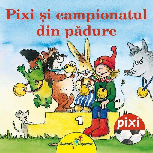 Julia Boehme - Pixi si campionatul din padure -Julia Boehme; Ilustratii: Dorothea Tust; Varsta:2-5 ani; Fiecare poate fi campion intr-un domeniu. Asta invata Pixi si prietenii sai in urma campionatului din padure.