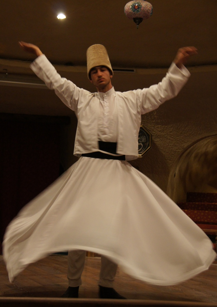 Whirling Derviches - Turkey (photo by Peggy Mooney)