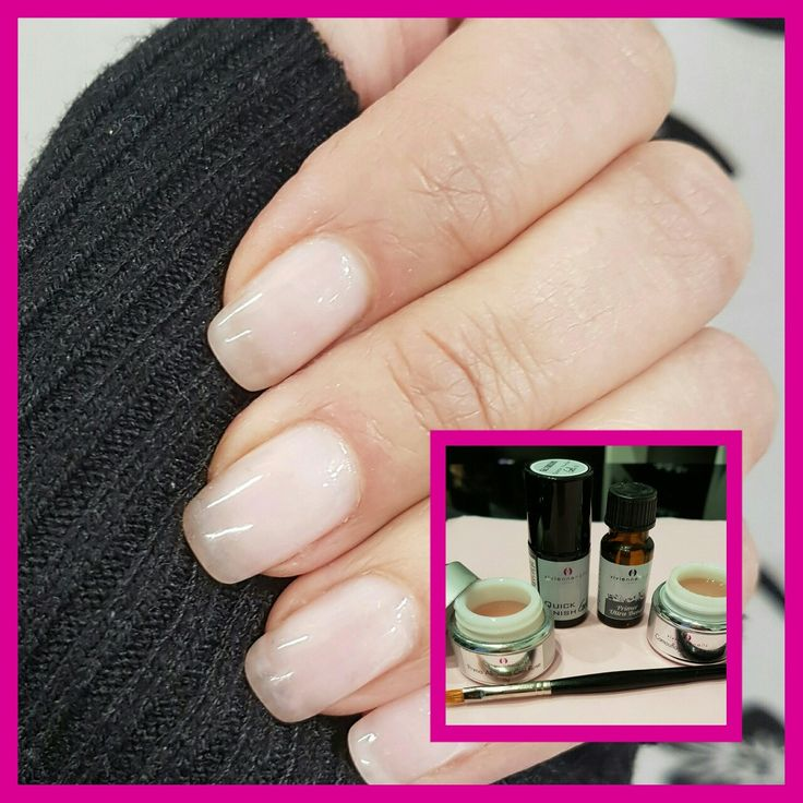 117 best why not do your nails yourself images on pinterest gel natural nails strengthened with vivienne nails gel system keeps your own nails protected chip solutioingenieria Images
