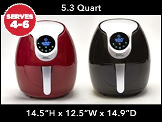 Power AirFryer XL 5 3 qt RED