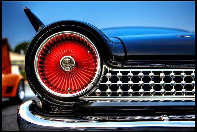 1961 Ford Galaxie tail-light.