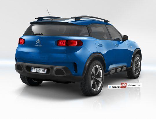 Le nouveau SUV Citroën C3 Aircross et toutes les futures Citroën
