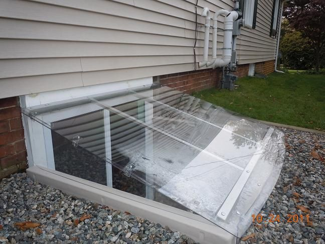 Or These Lean To Window Well Cover Easy Egress Outside