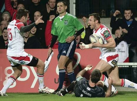 Ulster Rugby's Tommy Bowe fired up to make history - http://rugbycollege.co.uk/rugby-news/ulster-rugbys-tommy-bowe-fired-up-to-make-history/