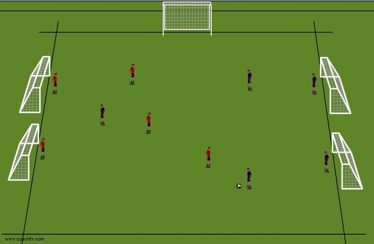 Trainingseinheit Fußball