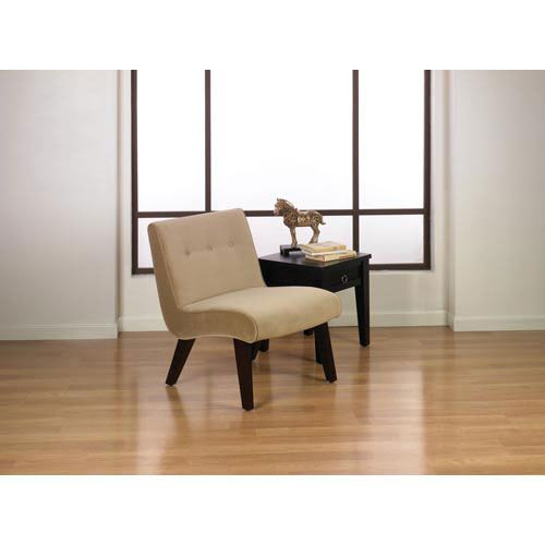 Curves Coffee Velvet Valencia Chair
