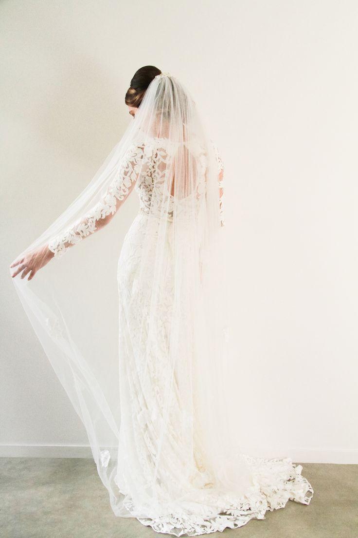 Lace Veil www.whenfreddiemetlilly.com.au