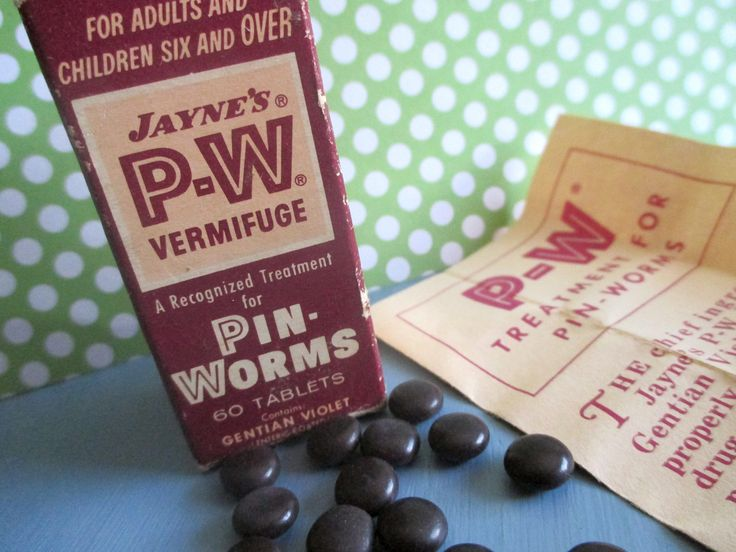 Vintage Medicine, Pinworm Tablets, Jaynes Vermifuge, Medical Supply, Pharmaceutical, Apothecary, Advertising Box, Display, Prop, 1940s by SquirrelAwayVintage on Etsy