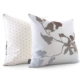 Found it at AllModern - Morning Glory Throw Pillow in Sky