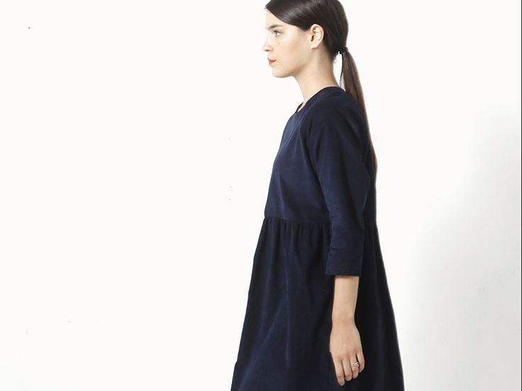Tutoriel DIY: Coudre une robe évasée à manches trois-quarts via DaWanda.com