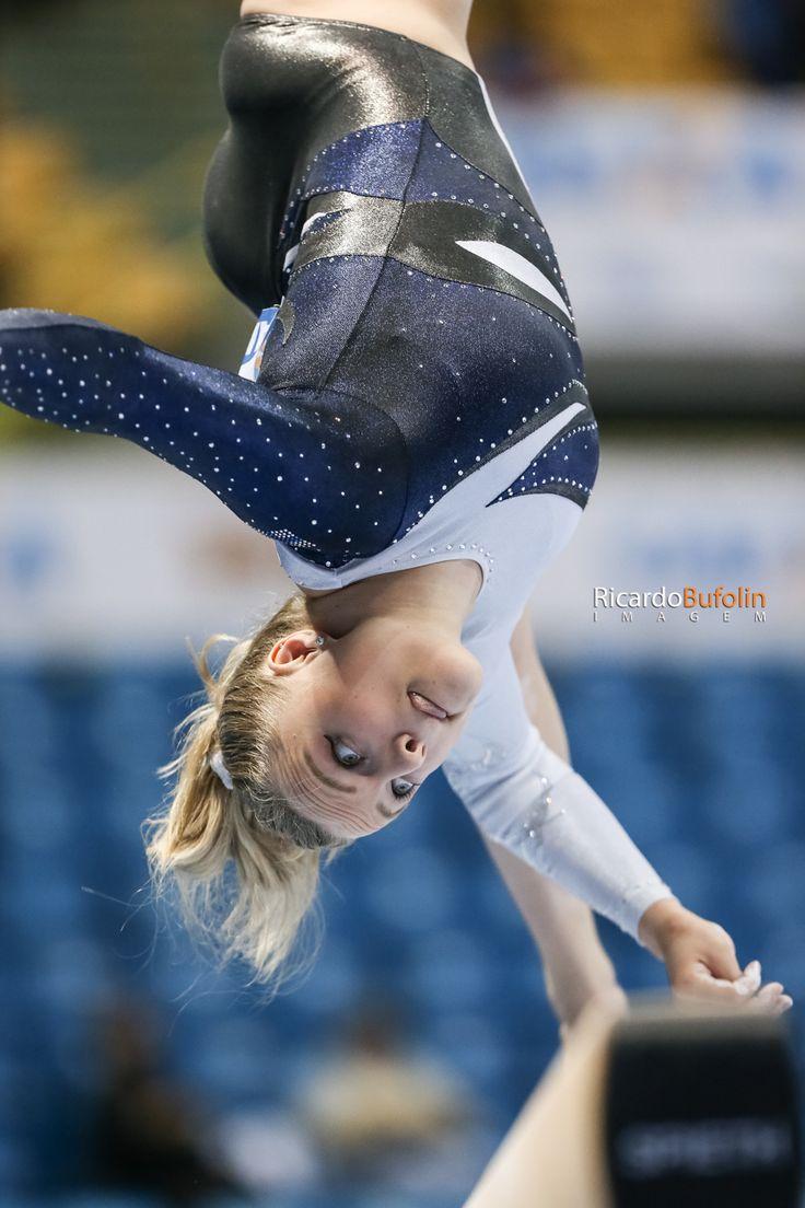 Annika Urvikko - FIN  #fig #cbg #caixa #ministeriodoesporte #canon #adidas #gimnastics #gimnasia #ginastica #artistic #artistica #finland #fin #beam #trave #viga #rio2016 #olympic #sport #sportphotography #bufolin #rbufolin #bergamini
