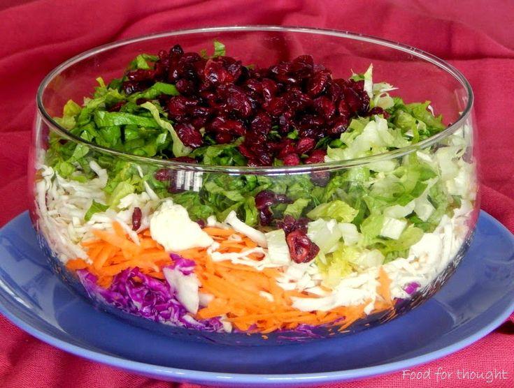 Food for thought: Πολύχρωμη αποκριάτικη σαλάτα