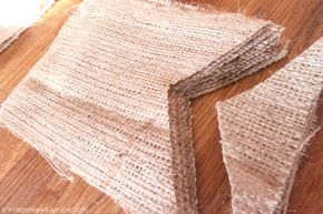 How to Make a Burlap Fall Banner {with Needle and Twine}