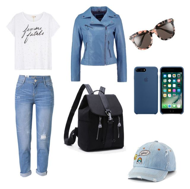 """Untitled #5"" by vaatsalya77 on Polyvore featuring WithChic, Sundry, Gentle Monster and SO"