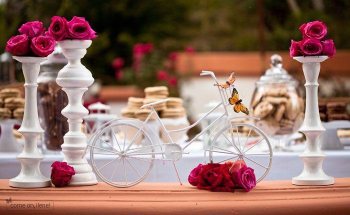 Bicycle centerpiece ideas