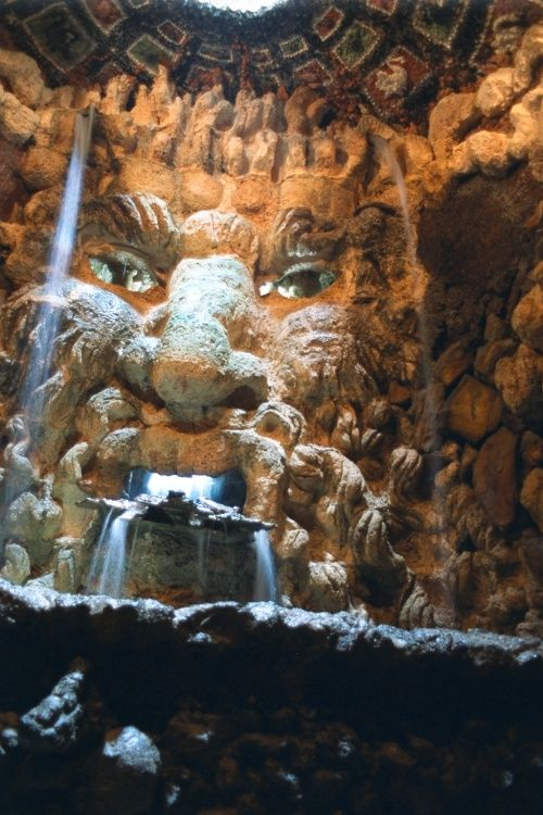 The grotto at Leeds Castle- I will go