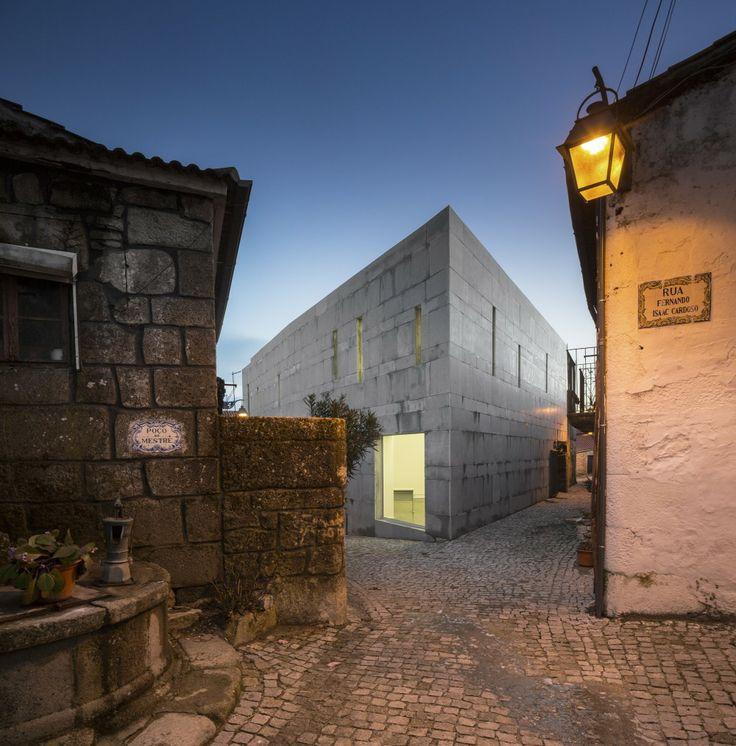 Centro de Interpretación de la Cultura Judía Isaac Cardoso / Gonçalo Byrne Arquitectos + Oficina Ideias em linha