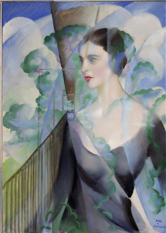 Giacomo Balla, Portrait of Benedetta Marinetti, 1951,