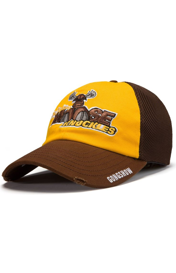 The Fighting Moose Knuckles Beer League Hockey Hat - Gongshow Gear - Lifestyle Hockey Apparel