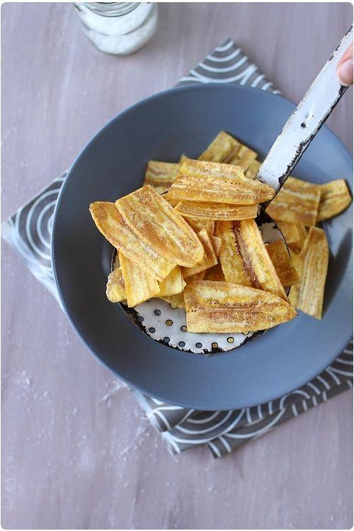 Chips de banane plantain