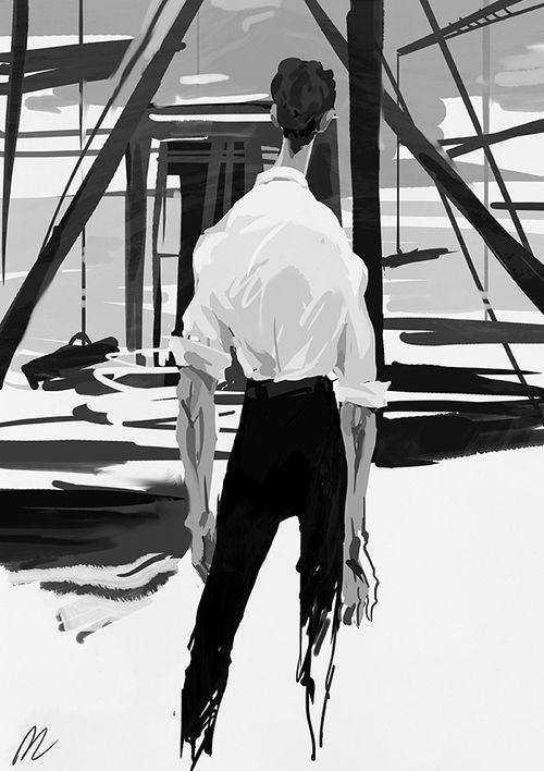 Ayn Rand «The Fountainhead» illustrations — So…