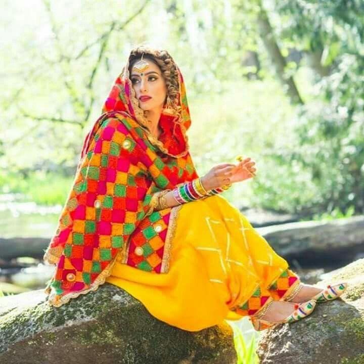 Phulkari by apna punjabi designer boutique