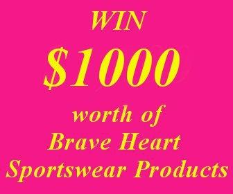 Good luck.Good Luck, Brave Heart, Heart Sportswear