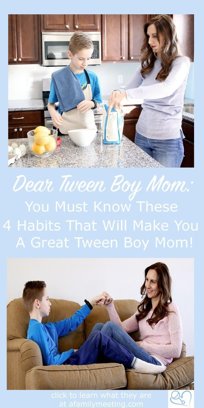 How To Be A Great Boy Mom - 4 Ways To Bond   Parenting Tweens
