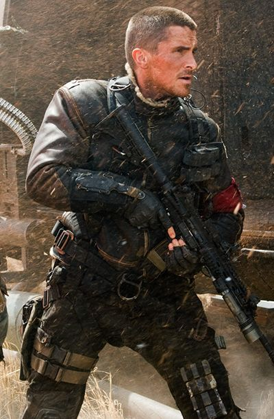 Christian Bale aka John Connor - Terminator Salvation