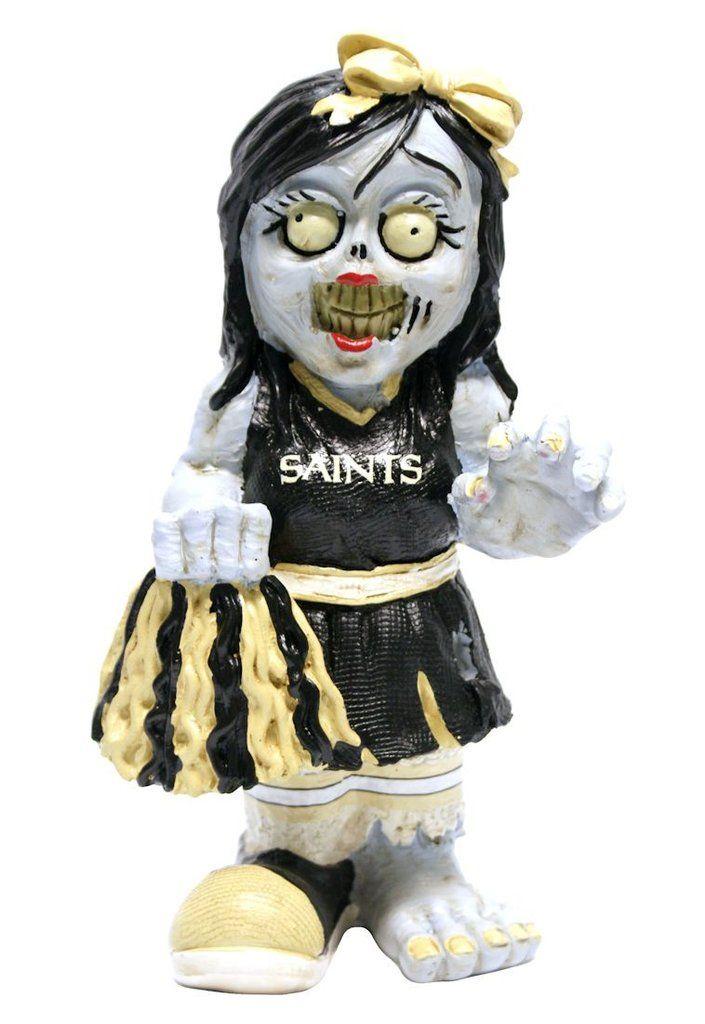 New Orleans Saints Zombie Cheerleader Figurine