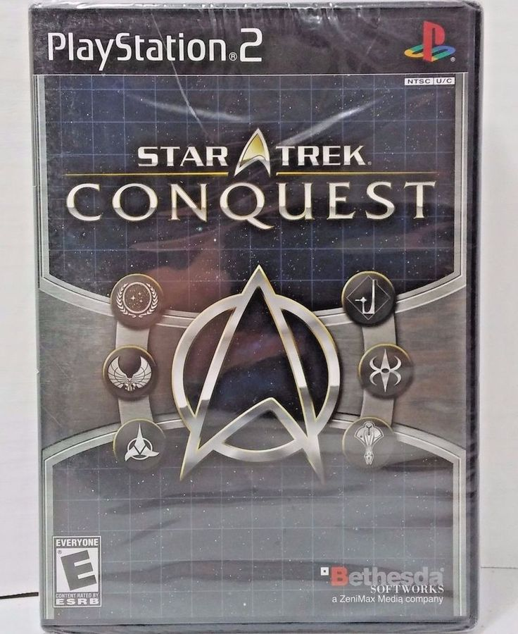 Star Trek ConQuest PlayStation 2 Sony PS2 2007 New Sealed Game #SonyPlaystation