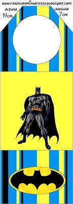 Batman Free Printable Candy Bar Labels.