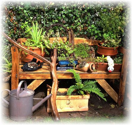 204 besten Garden Bilder auf Pinterest Bauanleitung - gartenbank selber bauen bauanleitung